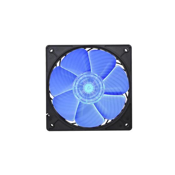 UV reactive material fan blades