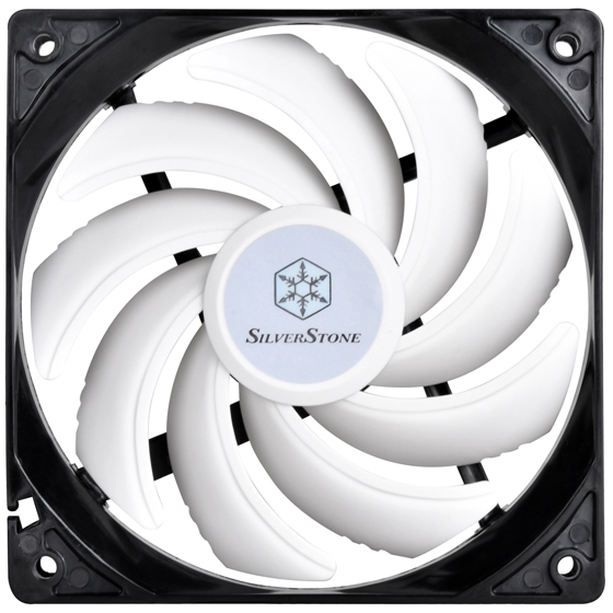 Front view of PWM fan