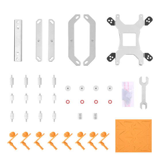 Components included (V3) (Compatible with AM4)