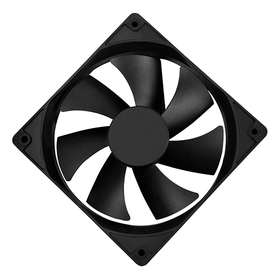 Silent 120mm power supply fan