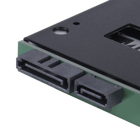 SATA power and SATA connector
