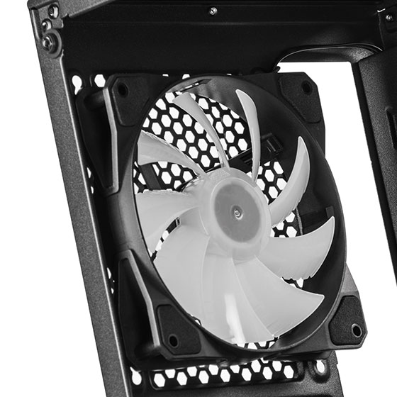 Included rear 120mm RGB fan