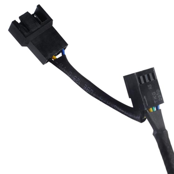PWM fan connector