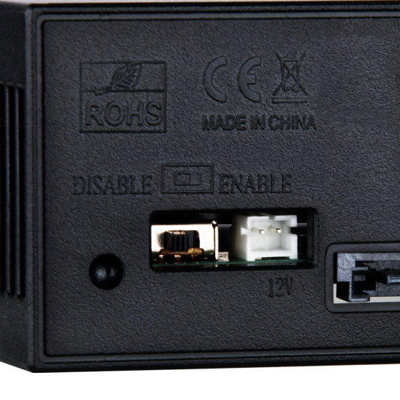 HDD activity status switch