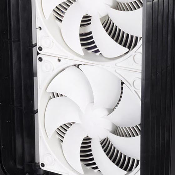 Two Air Penetrator AP182 fans