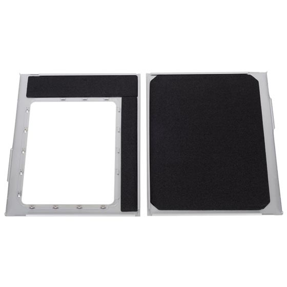 Side panel foam padded interior for advanced noise absorption