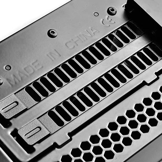 Dual PCI-E slots can house graphics card up to 13