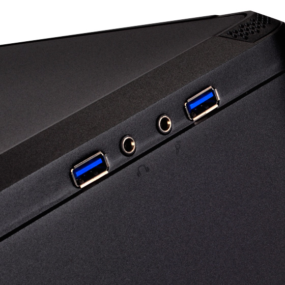 Front USB 3.0 and I/O ports(FTZ01B)