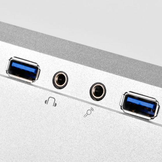 Front USB 3.0 and I/O ports(FTZ01S)