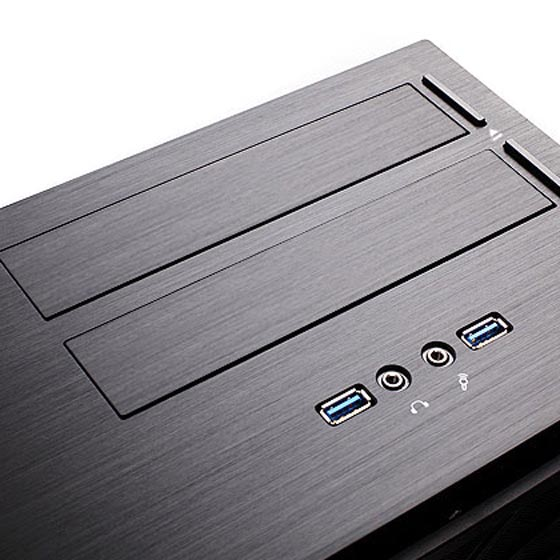 2 x USB 3.0, front I/O and optical drive