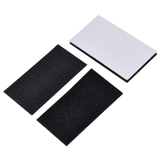 Included adhesive & Velcro pads