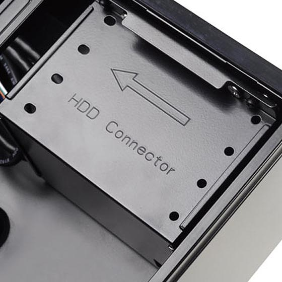 2.5-inch HDD cage