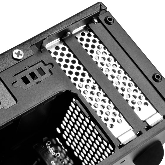 Support dual slot low-profile graphics or expansion card