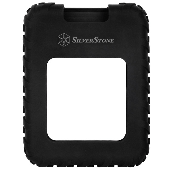 Unique anti-vibration silicone sleeve over ABS shell for complete protection