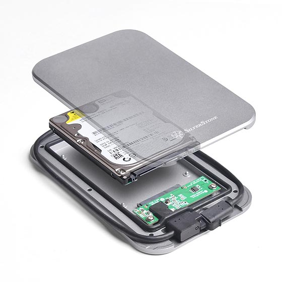 "Supports 7mm or 9.5mm thick 2.5"" SATA hard drives or SSD"