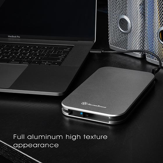 Full aluminum high texture appearance