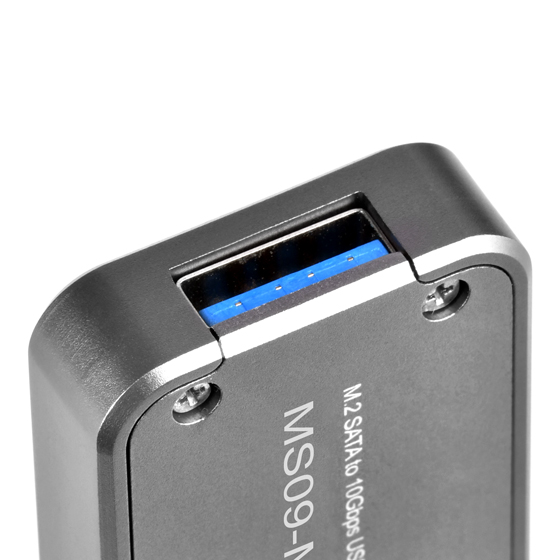 Latest USB 3.1 Gen 2 interface up to 10Gb/s super speed transfer rate