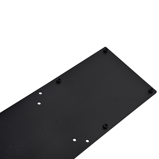 Space designed for mounting NUC chassis