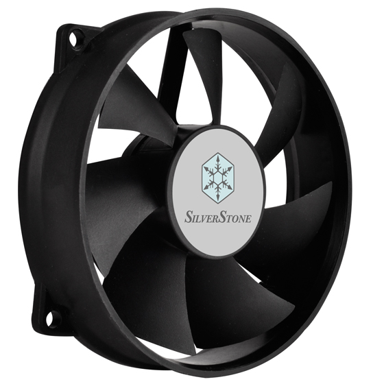 Custom quiet 92mm fan for excellent cooling and low noise