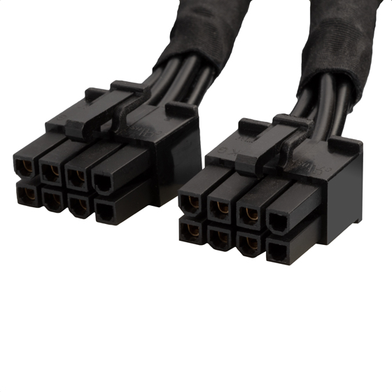2 x 8 pin EPS connector (PSU)