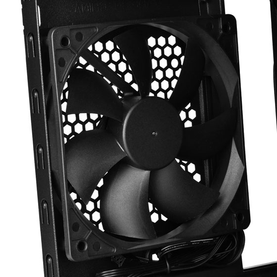 Rear 120mm fan
