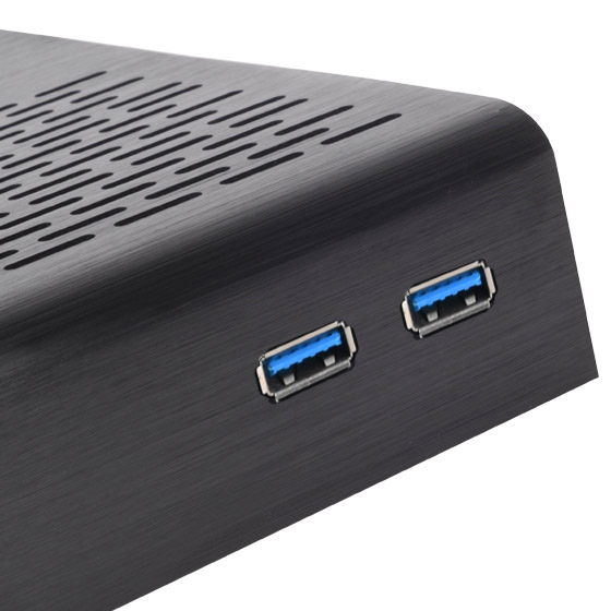 Front I/O ports with USB 2.0 (PT13B-USB3.0)