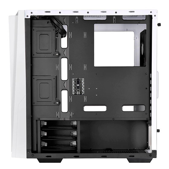 Side view with side panel removed (RL06WS-PRO)