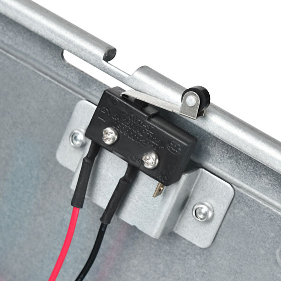 Slide switch for chassis intrusion security