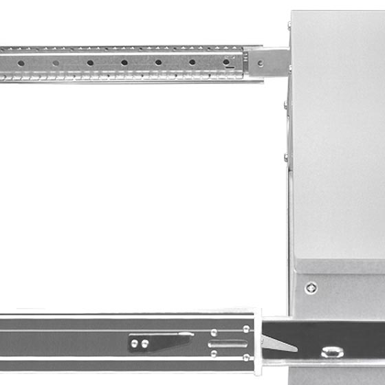 Supports 430mm wide chassis