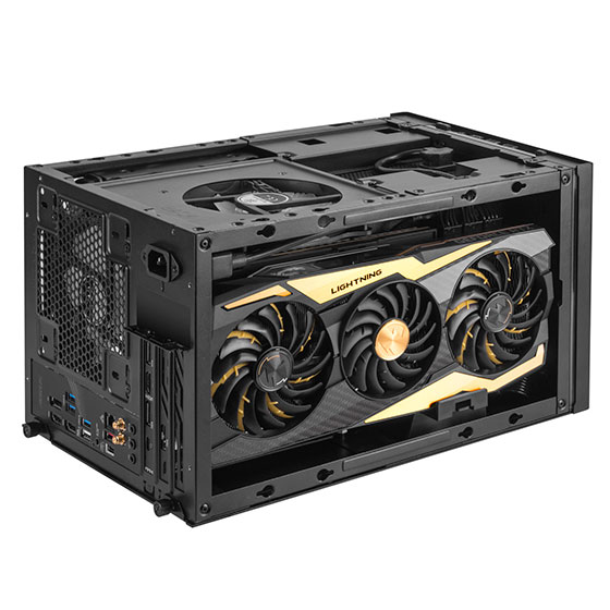 Supports 3 slot full length graphics cards