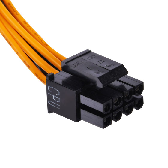 1 x 8 / 4-Pin EPS / ATX 12V connector