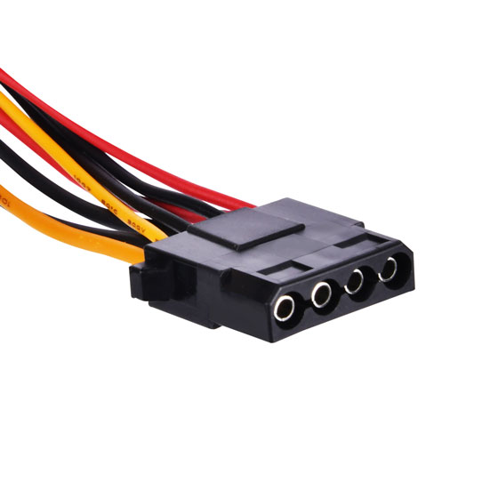 3 x 4-Pin Peripheral connector