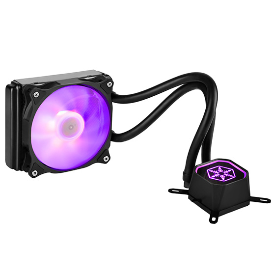 Displays any color by use of a RGB LED control box or capable motherboard (purple)