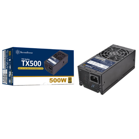 TX500-G retail package and PSU