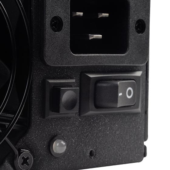 Speed control switch for 80mm fan